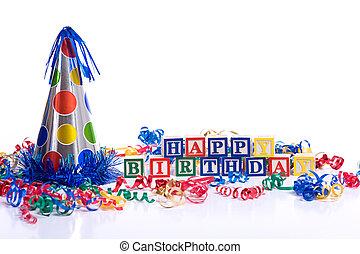 """""""Happy Birthday"""" Blocks"""