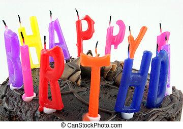Happy Birthday - Cake Close up 1