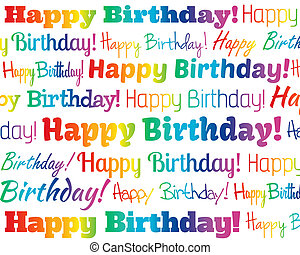 Happy Birthday - Grouped collection of different Happy...