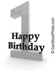 Happy Birthday for 1st birthday