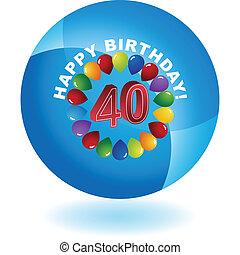 Happy Birthday Forty