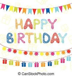 Happy Birthday funny greeting card