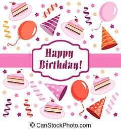 Happy birthday 53 year greeting card poster color happy birthday happy birthday greeting card m4hsunfo