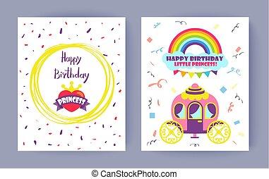 Happy Birthday Little Princess Celebration Card
