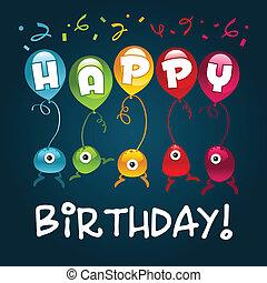 Happy Birthday Monsters