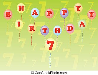 happy birthday seven years