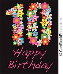 happy birthday ten year