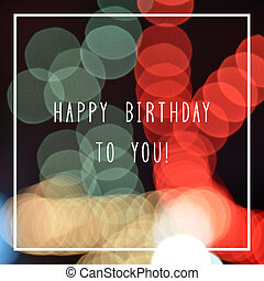 Happy birthday to you text