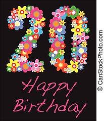 Happy Birthday Twenty Year