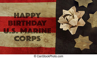Happy Birthday US Marine Corps Flag