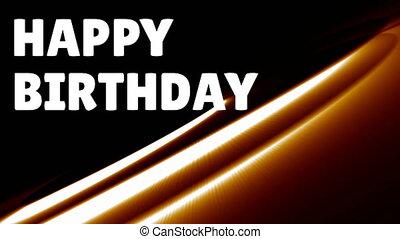 Happy birthday wishes - Digital composite of happy birthday ...