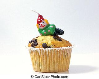Happy Birthday(Clown Candle)