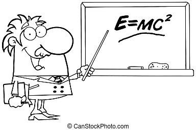 Happy Black And White Professor - Happy Black And White...