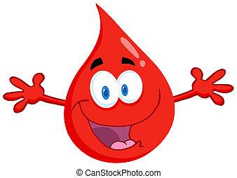 Happy Blood Guy