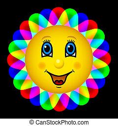 Happy bloom sun