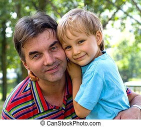boy with uncle