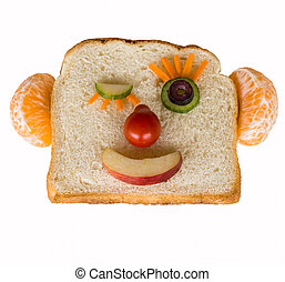 Happy bread face