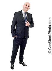 businessman full length