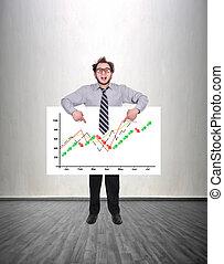 success stock chart