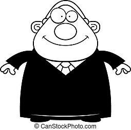Happy Cartoon Judge