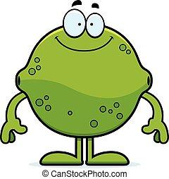 Happy Cartoon Lime