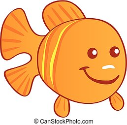 Orange fish Ima...