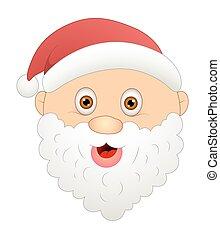 Happy Cartoon Santa