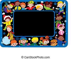 Happy children. - Happy children of different nationalities ...