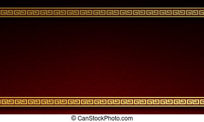 Happy Chinese New Year of the abstract pattern design for traditional festival Greetings Card background.Motion Graphic simple wallpaper.Design frame border postcard minimal decoration.Video Footage