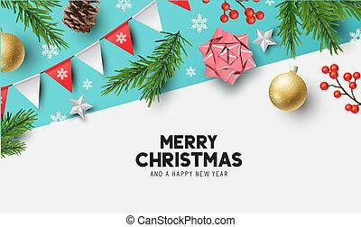 Happy Christmas Background Design