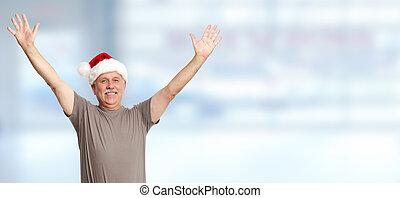 Happy Christmas man.