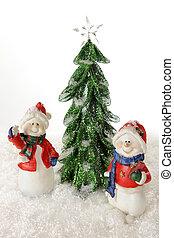 Happy Christmas Snowmen