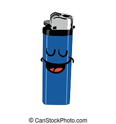 happy cigarette lighter