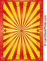 happy circus background - A background for your show with...