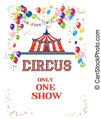 Happy circus poster