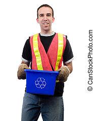 Happy City Worker