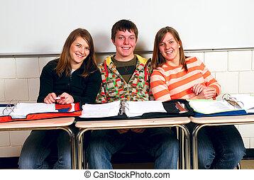Happy Classmates