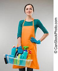 happy cleaner