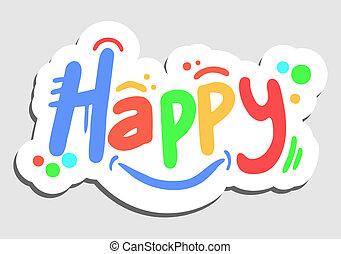 Happy color stick