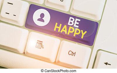 happy., concept, amour, vie, écriture, signification, ton, family., moment, dernier, chaque, travail, vivant, texte, être
