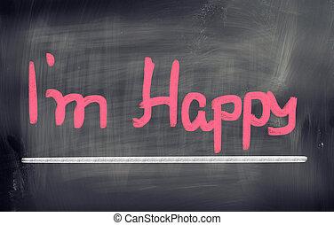 Happy Concept