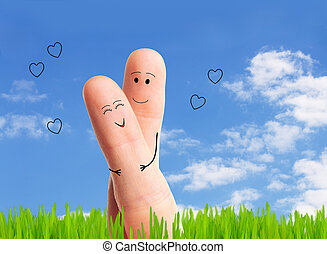 happy couple in love