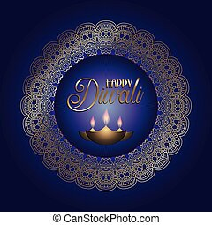 happy diwali background 1209 - Happy Diwali background with...