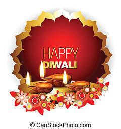 happy diwali background - beautiful happy diwali background...