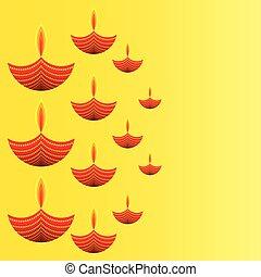 happy diwali greeting design - creative diwali greeting...