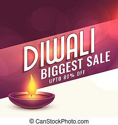 happy diwali sale banner design