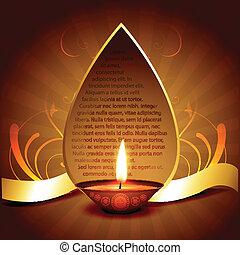 happy diwali - beautiful happy diwali vector design...