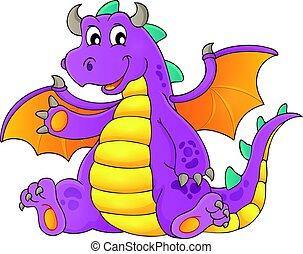Happy dragon topic