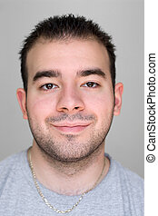 Happy Dude - A headshot of a young guy that is smiling...