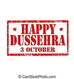Happy Dussehra-stamp